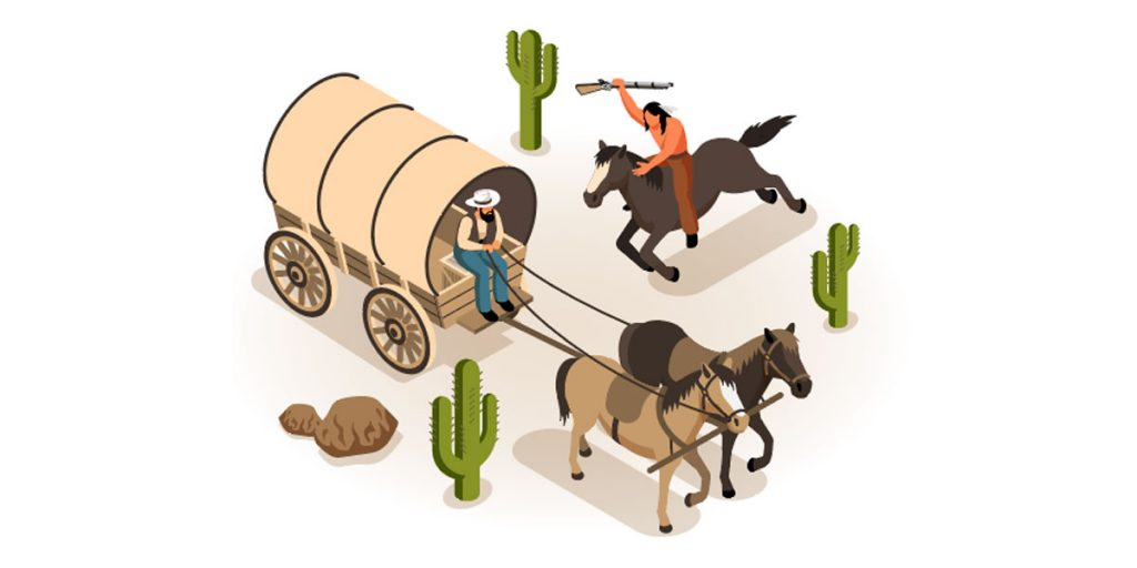 Wild-West-Isometric